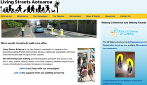 Living Streets site